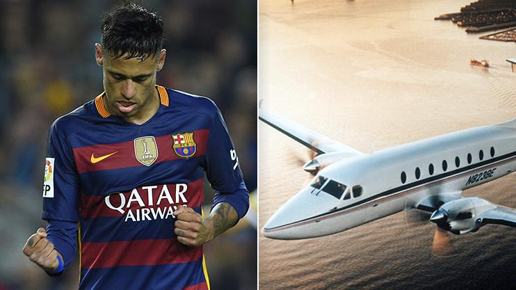 نيمار يشتري طائرة بـ 9 ملايين يورو