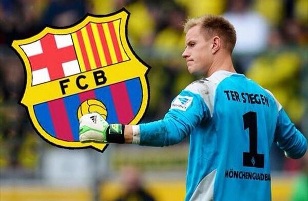 رسمياً … تير شتيغن يجدد عقده مع برشلونة حتى 2022