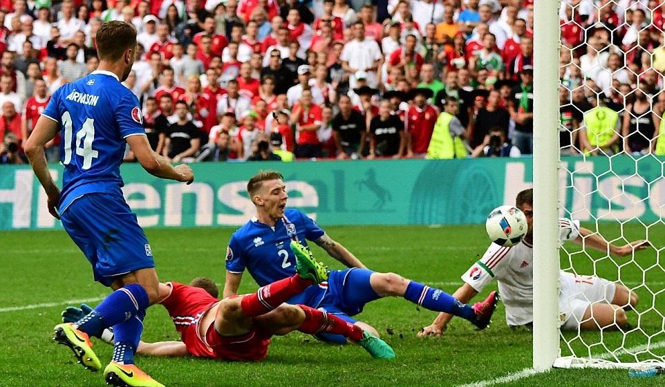 بالفيديو: المجر تفلت من الهزيمة أمام ايسلندا في اليورو
