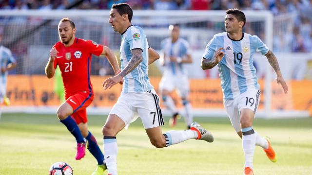 بالفيديو: الأرجنتين تتغلب على تشيلي في أولى مبارياتها بكوبا أميركا ٢٠١٦
