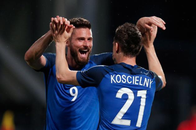 بالفيديو: فرنسا تعلن جاهزيتها ليورو ٢٠١٦ بفوز كبير على اسكتلندا