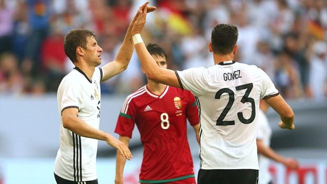 بالفيديو: فرص وأهداف مباراة ألمانيا والمجر