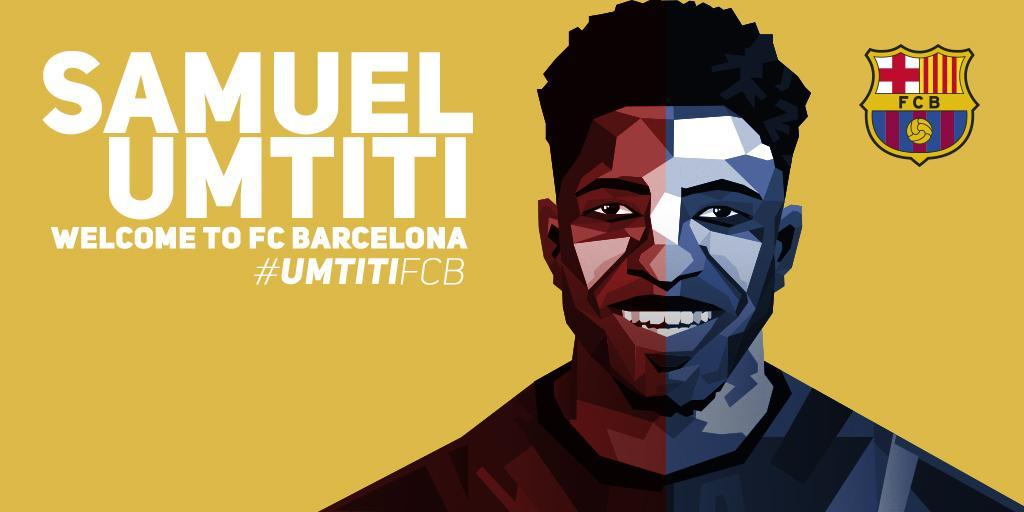 رسمياً .. برشلونة يتعاقد مع الفرنسي صامويل أومتيتي