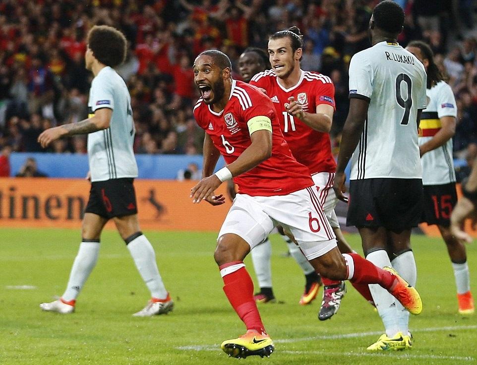 بالفيديو: ويلز يفجر المفاجأة وتهزم بلجيكا لتصعد للدور قبل النهائي