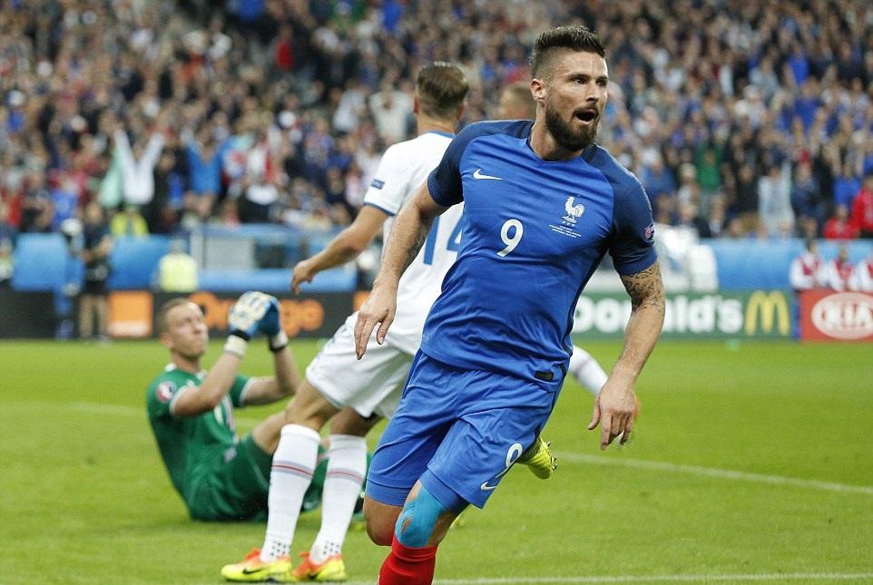 بالفيديو: فرنسا تقهر أيسلندا وتتأهل لمواجهة ألمانيا في نصف نهائي اليورو