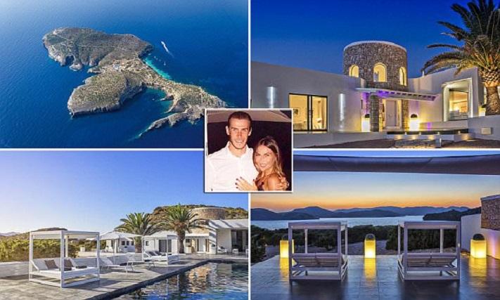 بالصور: غاريث بيل يستأجر جزيرة مقابل مبلغ خيالي … للاحتفال بزواجه وعيد ميلاده