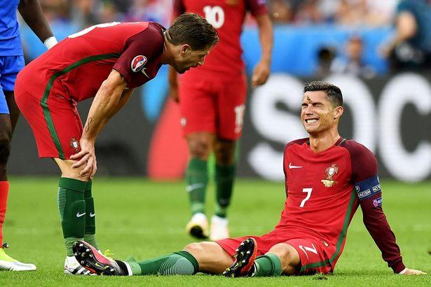 تعرف على مدة غياب رونالدو عن الملاعب بسبب الاصابة