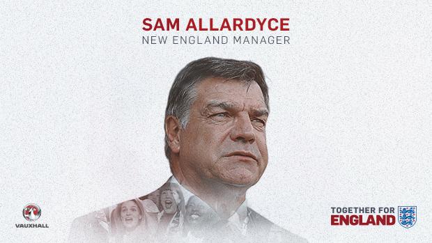 رسميا ألاردايس مدرباً لمنتخب إنجلترا