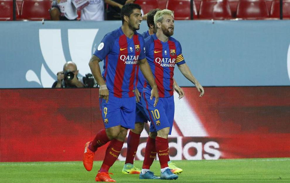 بالفيديو: برشلونة يهزم إشبيلية في ذهاب كأس السوبر الإسباني