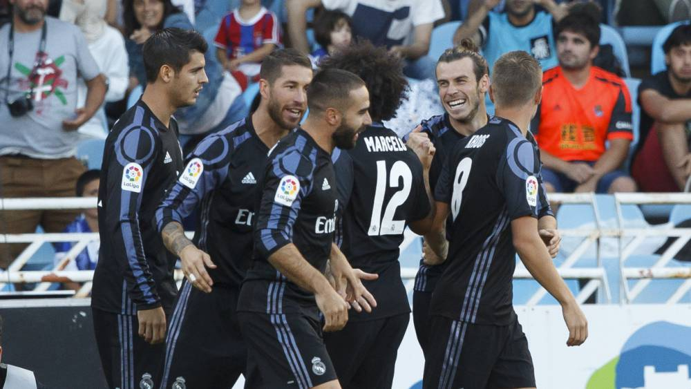 بالفيديو: ريال مدريد يجتاز عقبة سوسيداد في افتتاحية الليغا