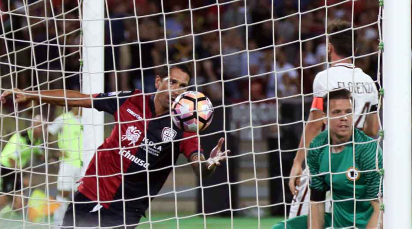 بالفيديو: تعادل مثير بين روما وكالياري في الدوري الإيطالي