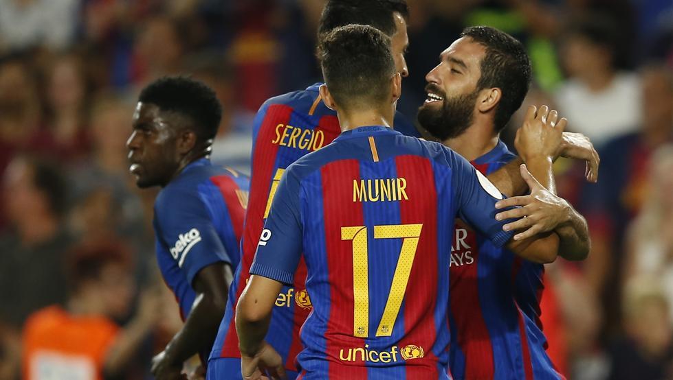 بالفيديو: برشلونة بطلاً لكأس السوبر الإسباني على حساب إشبيلية