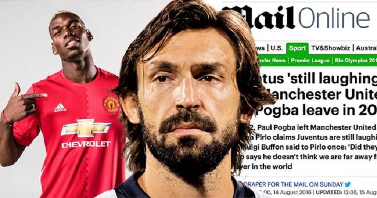 """بيرلو يفضح """"صحافة إنجلترا"""" بنفي تصريحاته عن صفقة انتقال بوغبا لمانشستر يونايتد"""