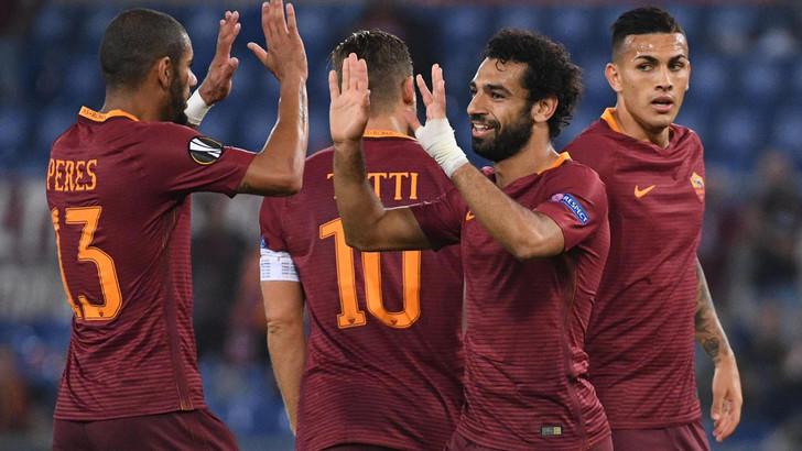 بالفيديو: روما يستعرض عضلاته أمام استرا جيورجيو في الدوري الأوروبي