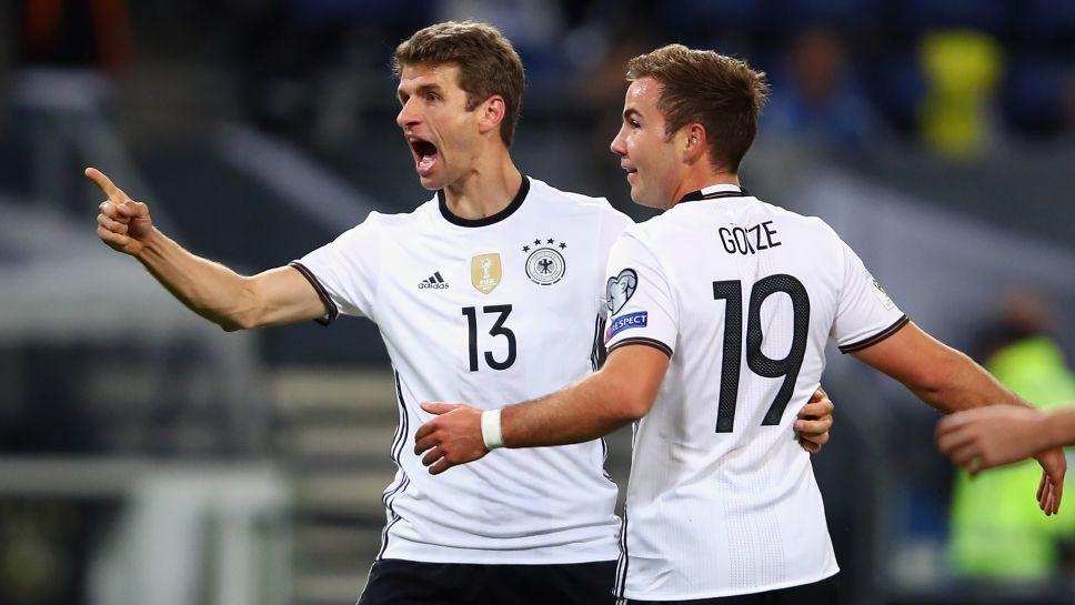 بالفيديو: ألمانيا تسحق التشيك بثلاثية في تصفيات المونديال