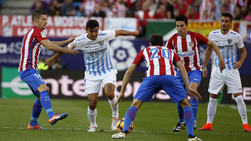 بالفيديو: أتلتيكو مدريد يستعيد وصافة الليغا بفوزه ملقة