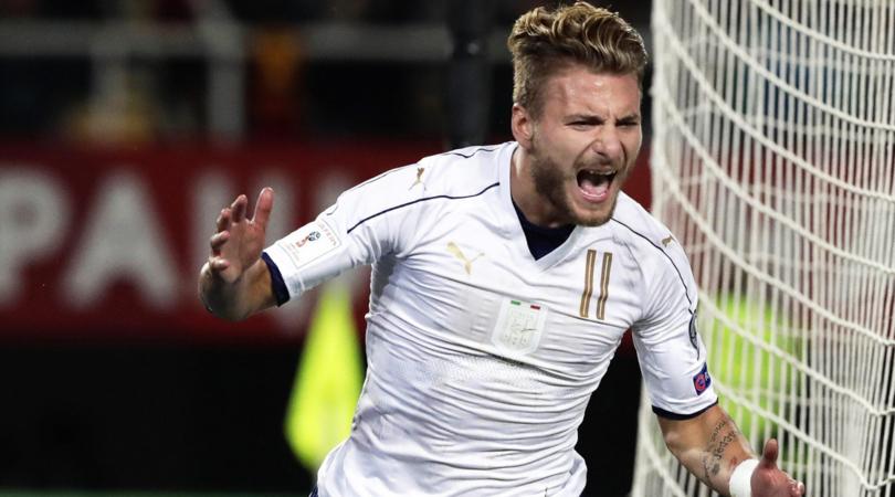 بالفيديو: إيطاليا يحول تأخره أمام مقدونيا إلى فوز بثلاثية بتصفيات المونديال