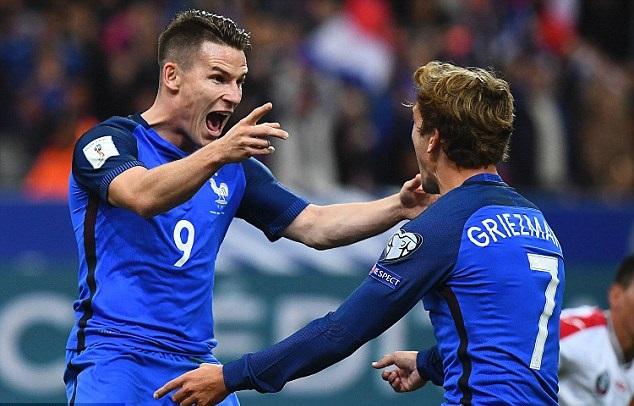 بالفيديو: فرنسا تحقق فوزها الأول بتصفيات كأس العالم 2018