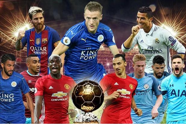 من هم المرشحون لجائزة الكرة الذهبية للعام 2016؟
