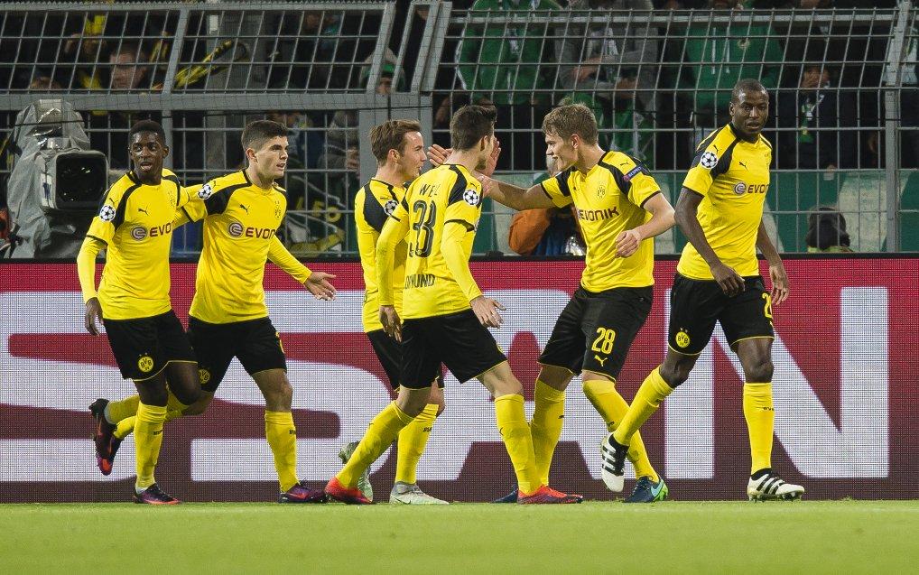 بالفيديو: بروسيا دورتموند يتأهل لدور الـ16 بفوزه على سبورتنج لشبونة
