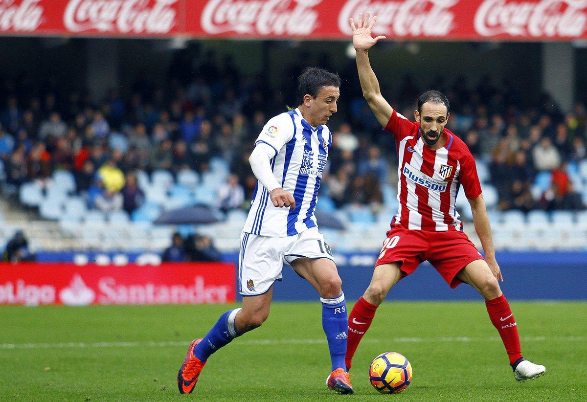 بالفيديو: سوسيداد يفاجىء أتليتكو مدريد ويقهره بثنائية