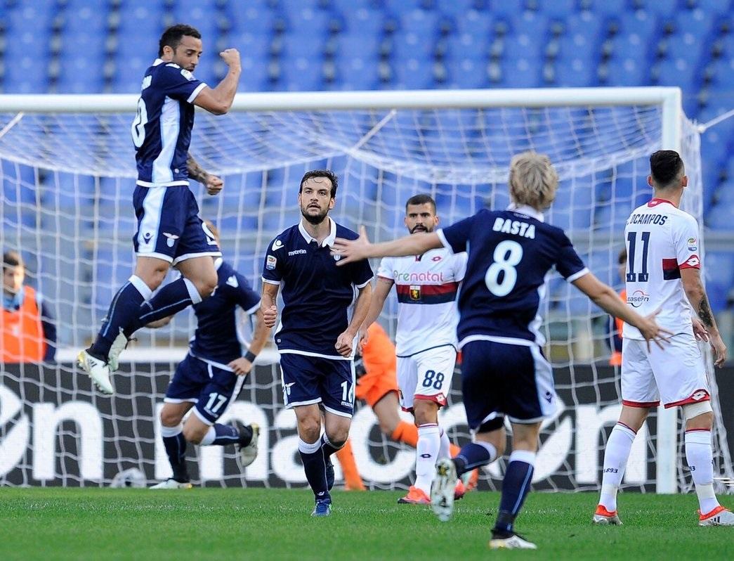 بالفيديو: لاتسيو يهزم جنوى بثلاثية في الدوري الإيطالي