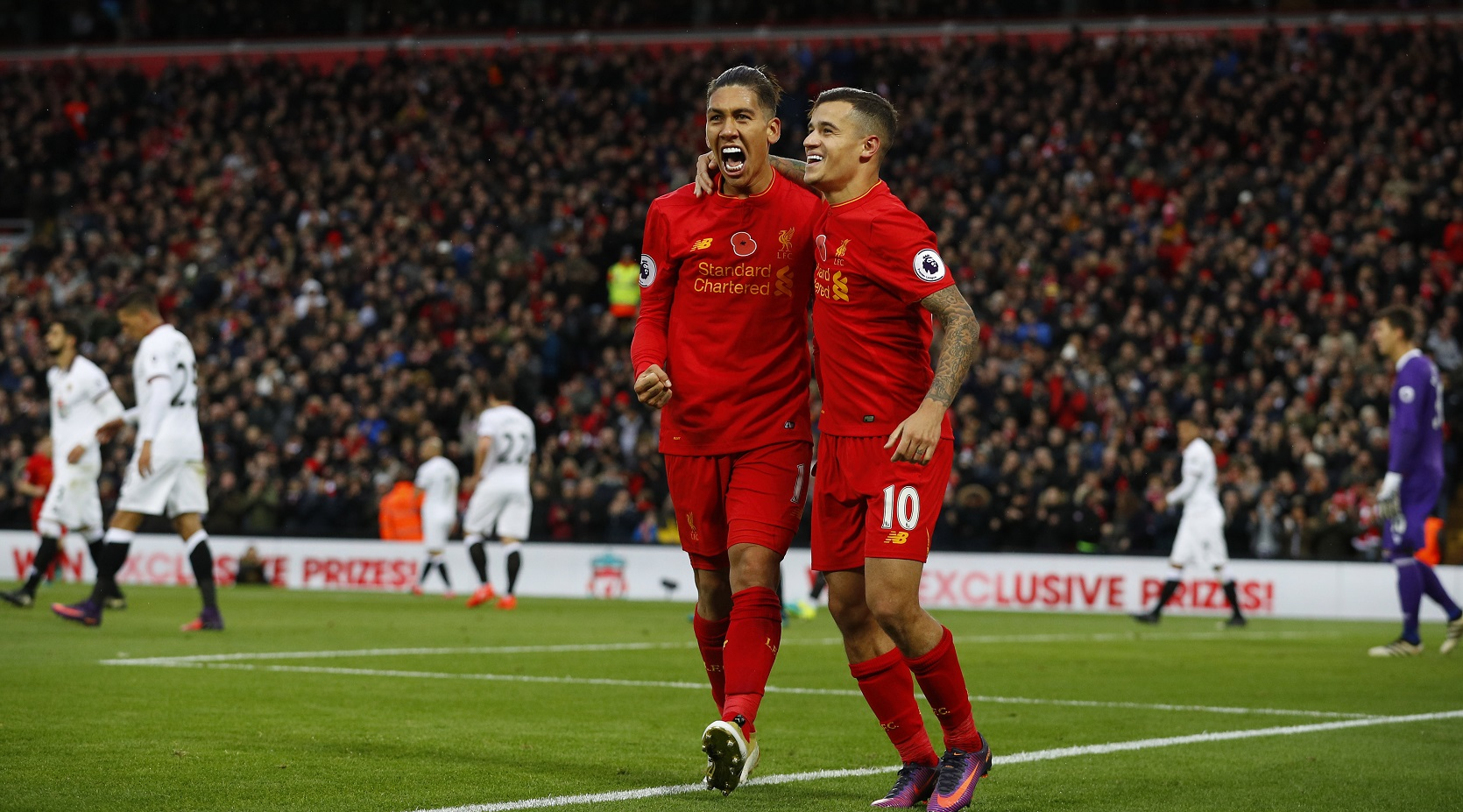 أهداف مباراة ليفربول وبرايتون 5-1 الدوري الإنجليزي