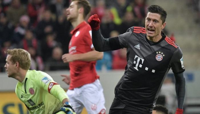 بالفيديو: بايرن ميونخ يهزم ماينز بثلاثية في الدوري الألماني