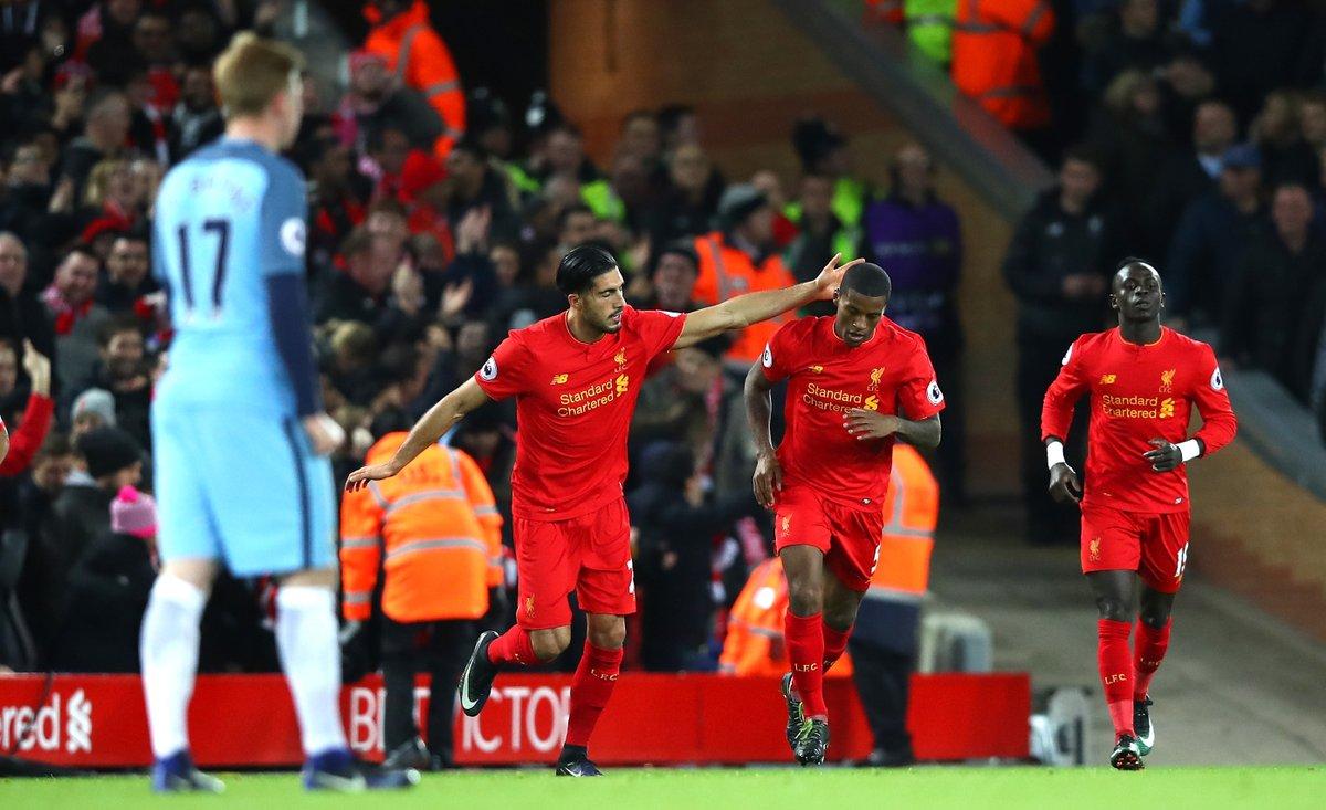 بالفيديو: ليفربول يهزم مانشستر سيتي وينفرد في المركز الثاني