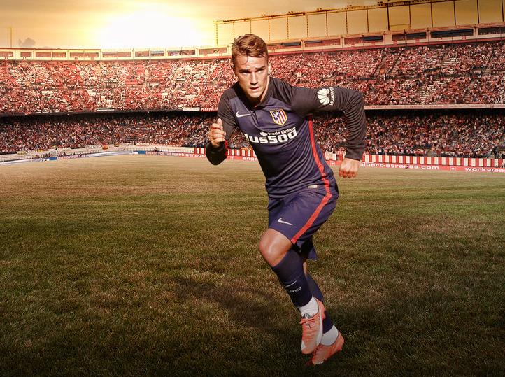 شاهد .. جريزمان يسجل هدفاً عالمياً في تدريبات أتليتكو مدريد
