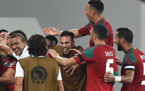 بالفيديو: المغرب تتأهل للدور الثاني من كأس إفريقيا بعد فوزه على الكوت ديفوار