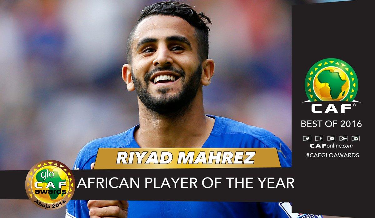 عاجل … رياض محرز يتوّج بلقب أفضل لاعب في أفريقيا