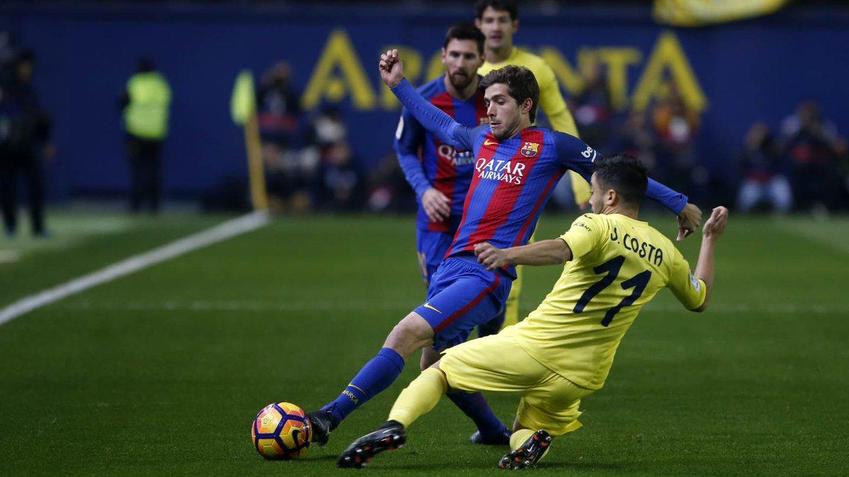 بالفيديو: برشلونة يسقط في فخ التعادل أمام فياريال