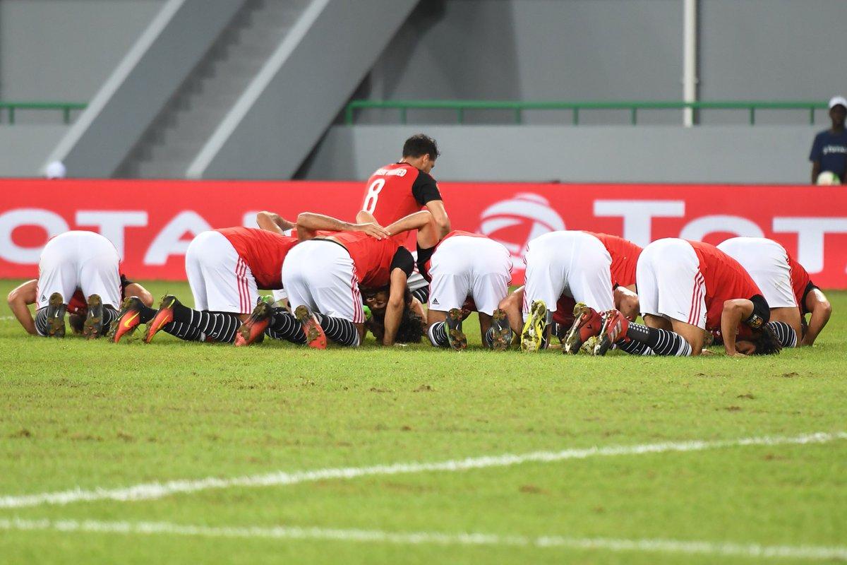 بالفيديو: مصر تهزم غاناً ويتأهلا معاً للدور الثاني