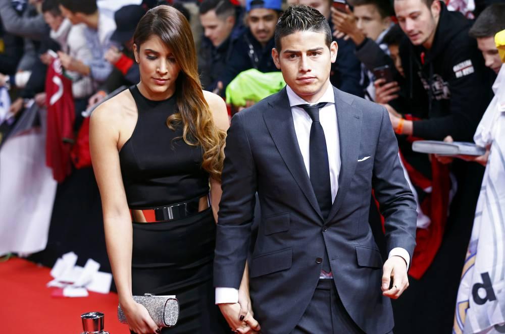 زوجة خاميس رودريغيز تكشف سبب انفصالها عنه !