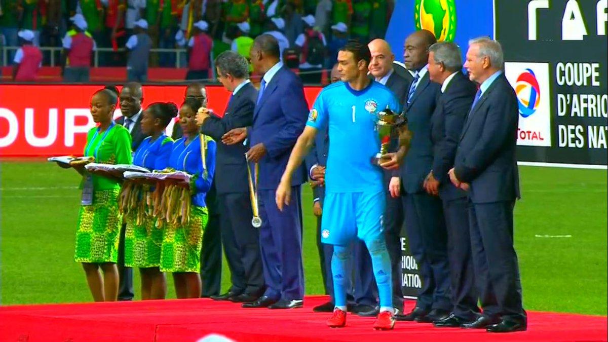 رسمياً … الحضري أفضل حارس في بطولة كأس الإمم الإفريقية