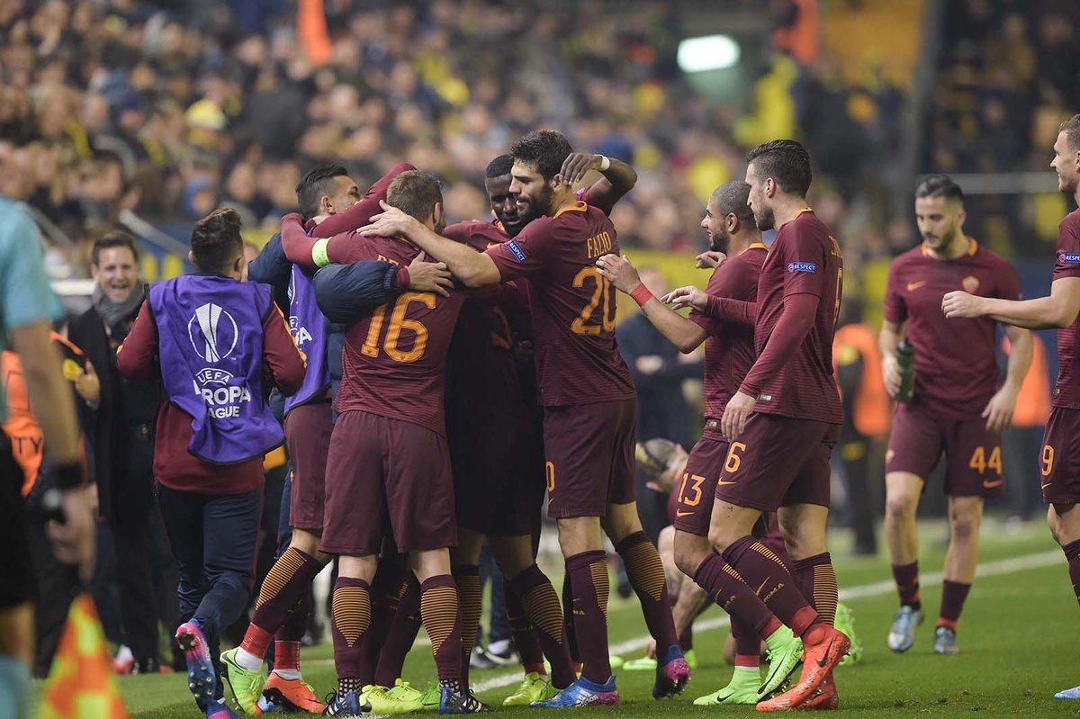 بالفيديو: روما خارج قواعده ينتصر على فياريال برباعية نظيفة في الدوري الأوروبي