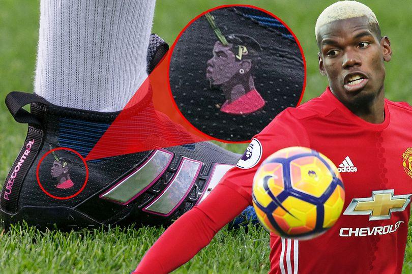 """صورة … العلامة التجارية """"بول بوغبا"""" تزين حذاء أغلى لاعب فى العالم"""