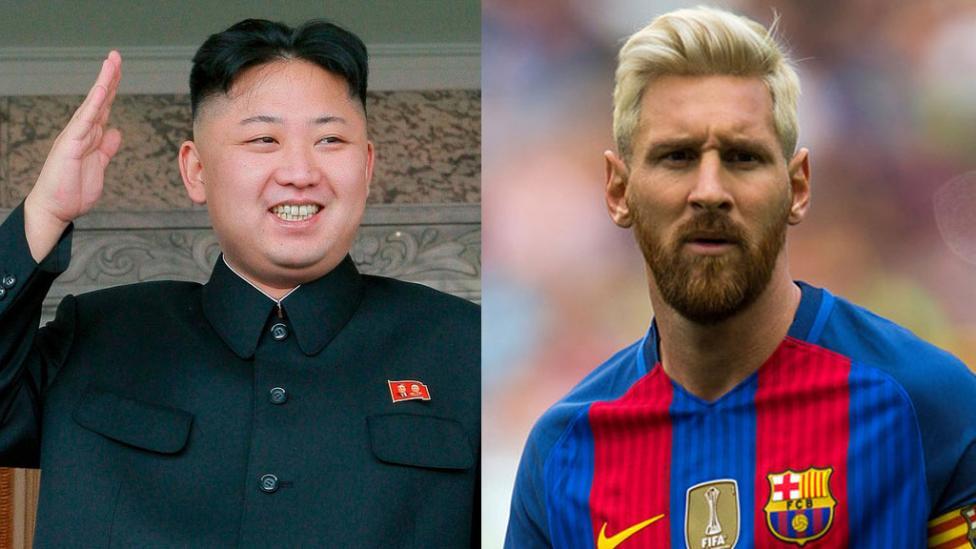 رئيس كوريا الشمالية يتوعد ليونيل ميسي !!