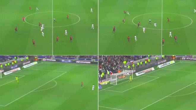 شاهد … ممفيس ديباي يسجل هدفا خياليا من منتصف الملعب