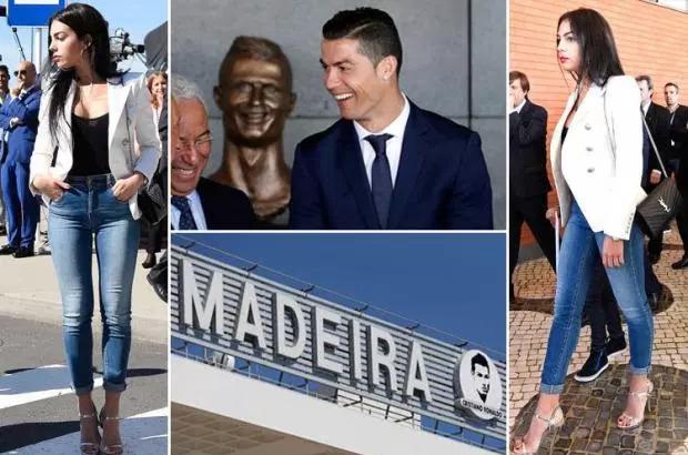 بالصور: تمثال كريستيانو رونالدو الجديد يتحول إلى مادة للسخرية