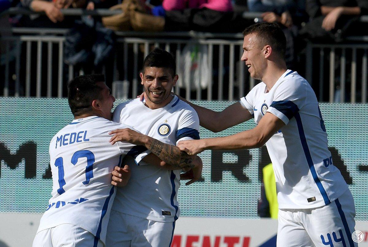 بالفيديو: إنتر ميلان يكتسح كالياري بخمسة أهداف في الدوري الإيطالي