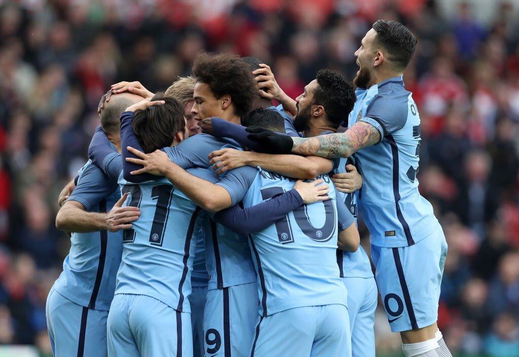 بالفيديو: مانشستر سيتي يتأهل لنصف نهائي كأس الاتحاد الإنجليزي