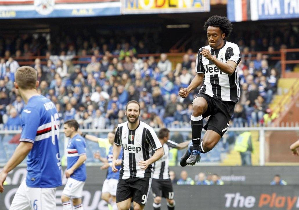 بالفيديو: يوفنتوس يتخطى سامبدوريا بهدف في الدوري الإيطالي