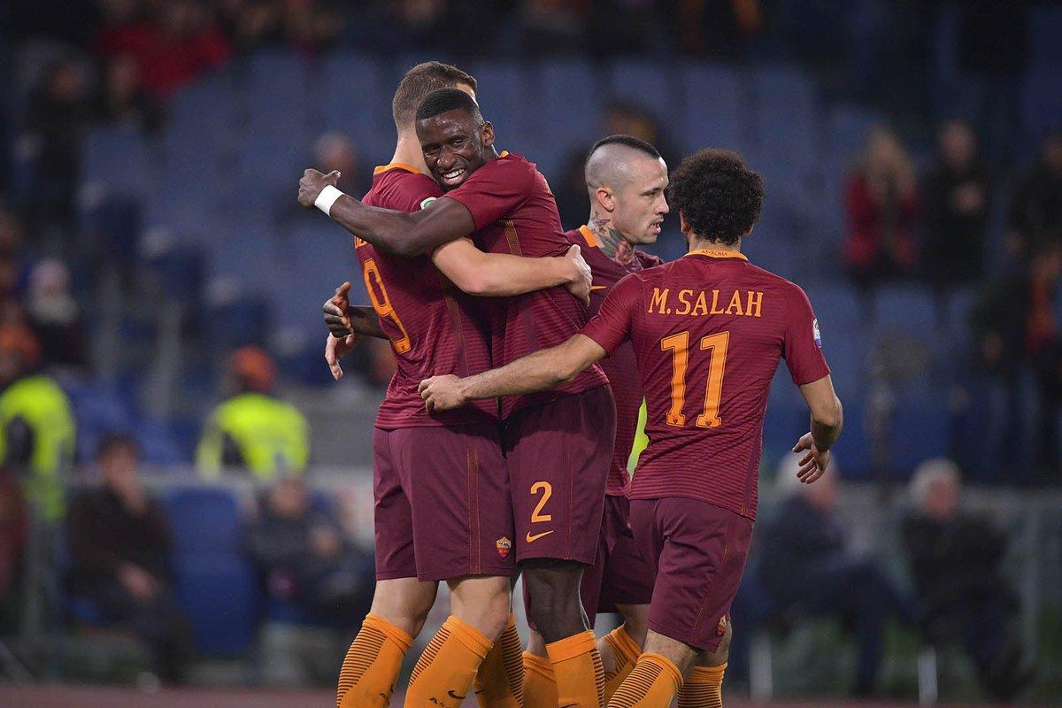 بالفيديو: روما يستعيد وصافة الكالتشيو بفوزه على ساسولو
