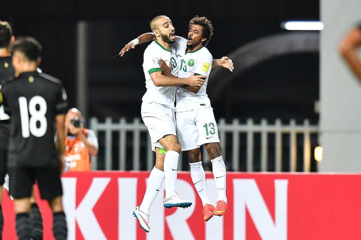 بالفيديو: السعودية تفوز في تايلاند في تصفيات كأس العالم