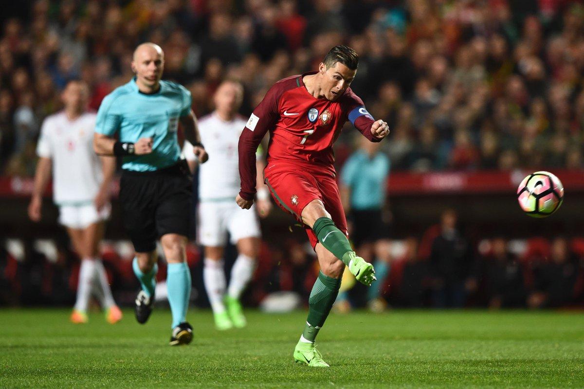 بالفيديو: رونالدو يقود البرتغال للفوز على المجر بتصفيات كأس العالم