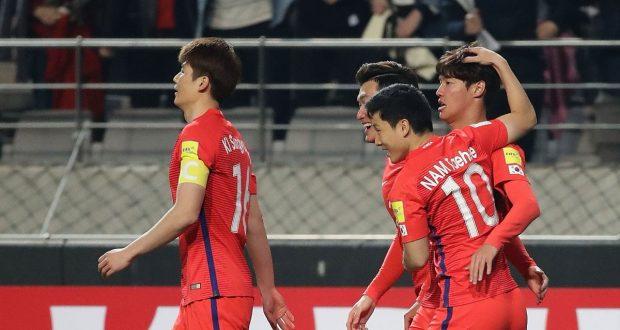 أهداف مباراة كوريا الجنوبية وسوريا 1-0 تصفيات كأس العالم 2018