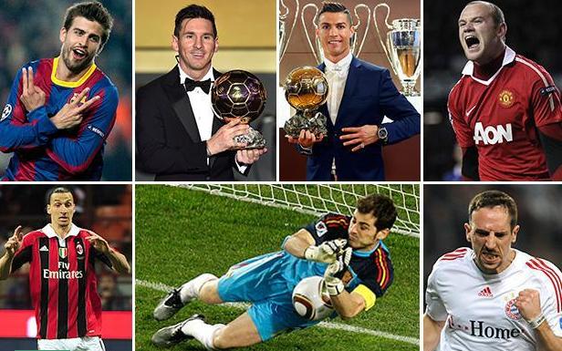 تعرف على أفضل 10 لاعبين في العقد الماضي
