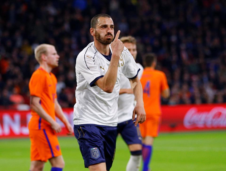 بالفيديو: هولندا الجريحة تسقط أمام إيطاليا ودياً